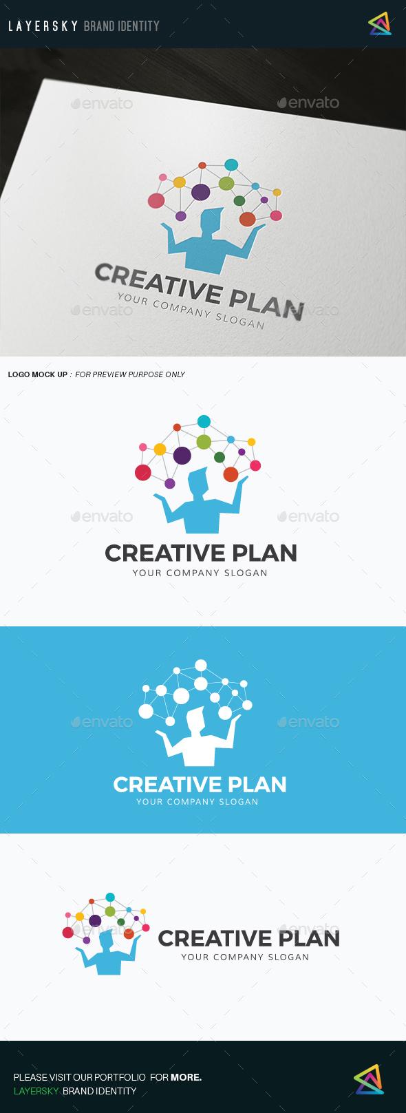 Creative Planning - Humans Logo Templates
