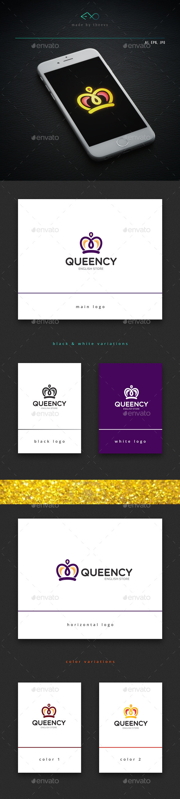 Queency - Objects Logo Templates