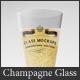 Glass Mockup - Champagne Glass Mockup Volume 10 - GraphicRiver Item for Sale