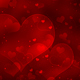 Valentine's Day Romantic Background with Hearts - GraphicRiver Item for Sale