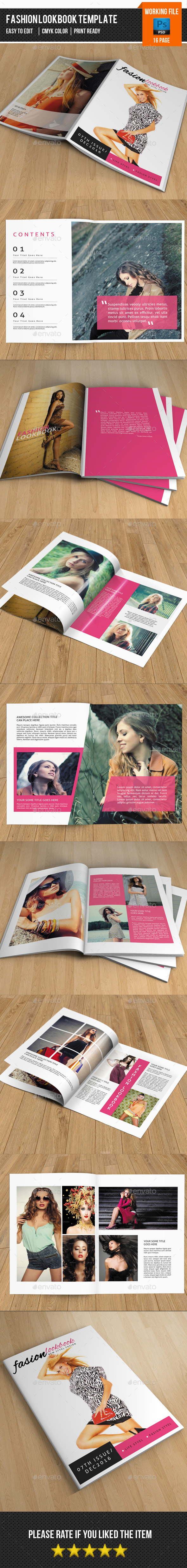 Fashion LookBook-V315 - Catalogs Brochures