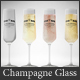 Glass Mockup - Champagne Glass Mockup Volume 11 - GraphicRiver Item for Sale