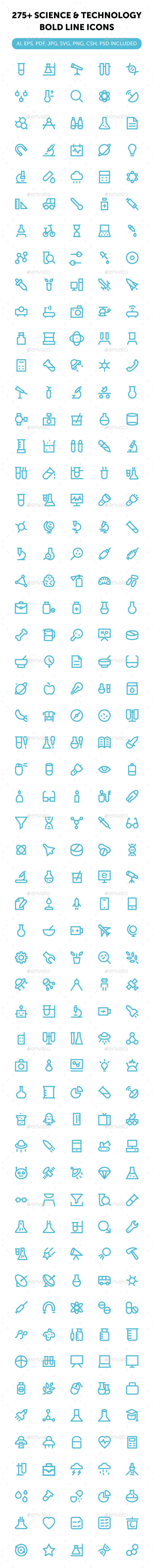 275+ Science and Technology Icons - Icons