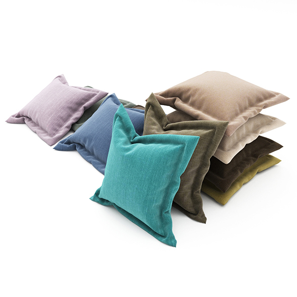 Pillows collection 89 - 3DOcean Item for Sale