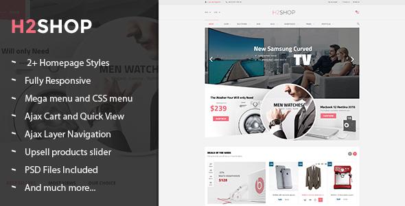 H2Shop – Multipurpose Responsive Magento Theme