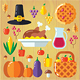 Thanksgiving Day Kit - GraphicRiver Item for Sale