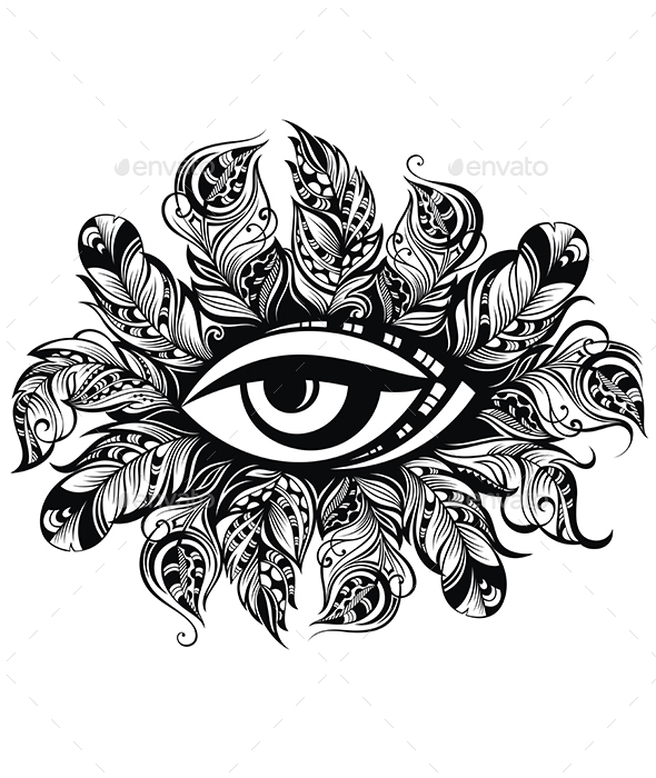 Decorative Eye Symbol - Decorative Symbols Decorative