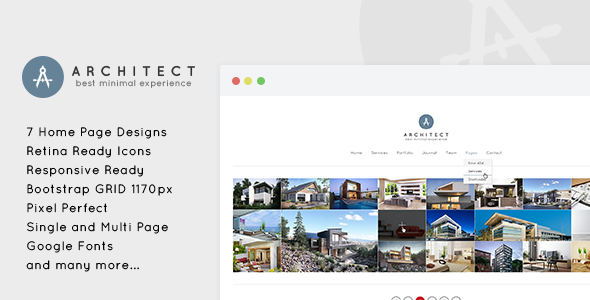 Architect – Creative Agency WordPress Theme