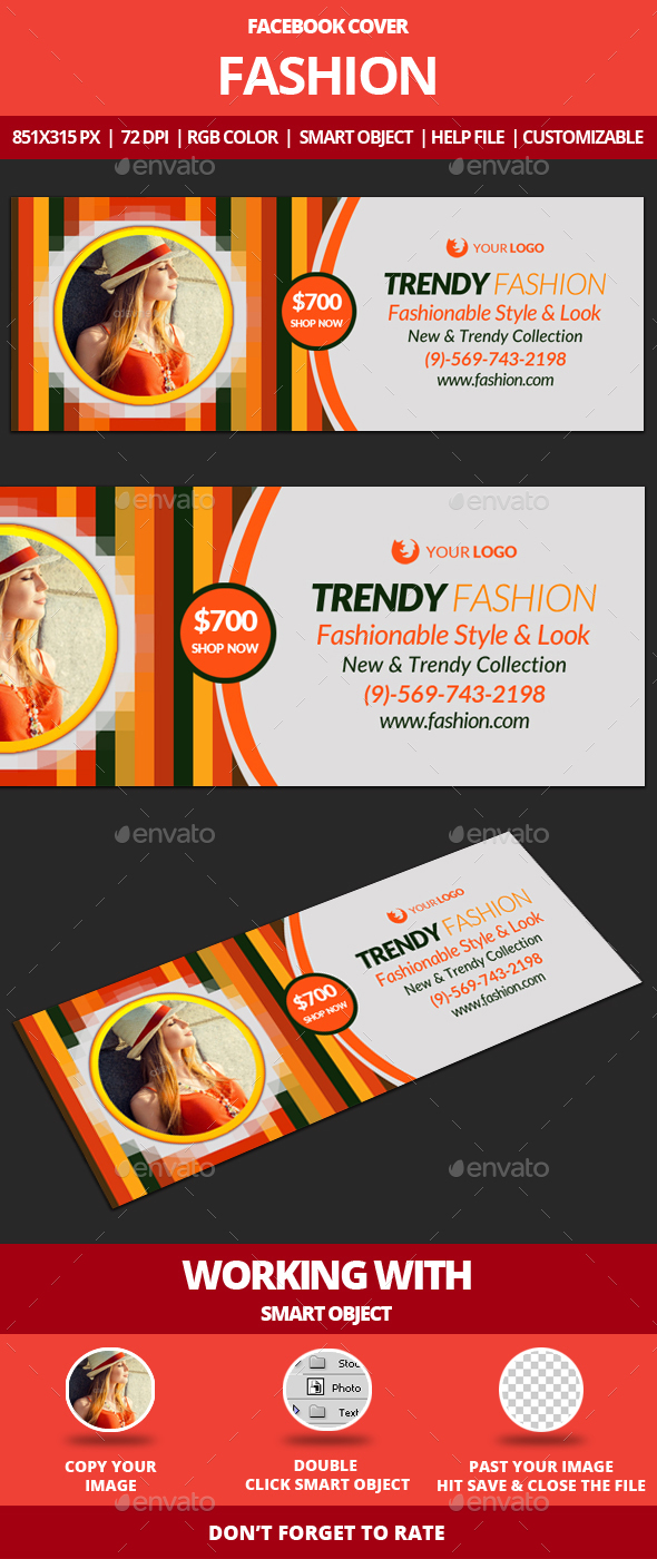 Fashion Facebook Cover - Facebook Timeline Covers Social Media