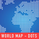 World Map - Dots + Squares - GraphicRiver Item for Sale