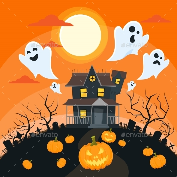 Halloween House - Halloween Seasons/Holidays