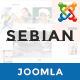 ZT Sebian Multi-Purpose Joomla Template Nulled