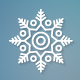 Christmas Flat Line Snowflakes - GraphicRiver Item for Sale