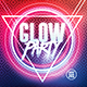 Glow Party | Psd Flyer Template - GraphicRiver Item for Sale