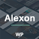 Alexon - Personal One-Multi Page Hybrid WP Theme Nulled