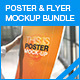 Poster & Flyer Mock-up Bundle