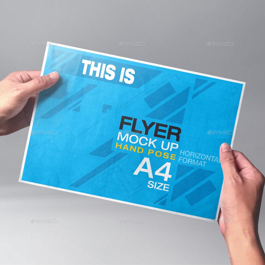Poster flyer mock up bundle by kenoric graphicriver flyer bundleg reheart Gallery