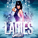 Ladies Night Sexy Party   Flyer Template - GraphicRiver Item for Sale