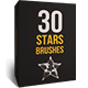 30 Stars Brushes - GraphicRiver Item for Sale