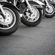 Motorcycles in a row  - PhotoDune Item for Sale