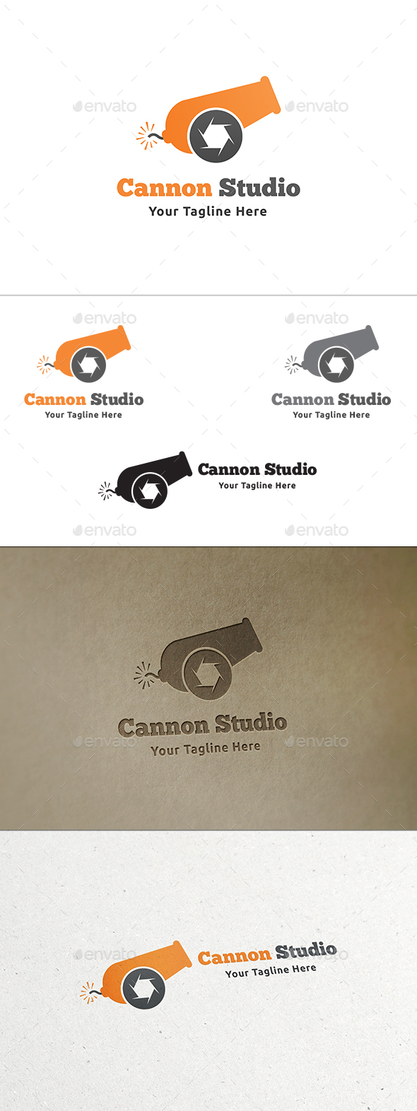Cannon Studio Logo - Symbols Logo Templates
