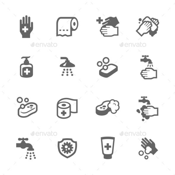 Hygiene Icons - Icons