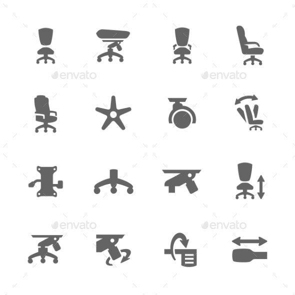 Office Chair - Icons