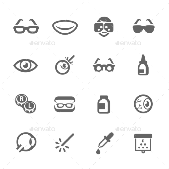Optometry Icons - Icons