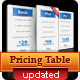 Very Clean Pricing Table with Widgets and 7 Colors - GraphicRiver Item for Sale