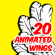 20 Wings - Animation Pack - VideoHive Item for Sale