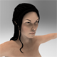 Realistic asian woman (naked) - 3DOcean Item for Sale