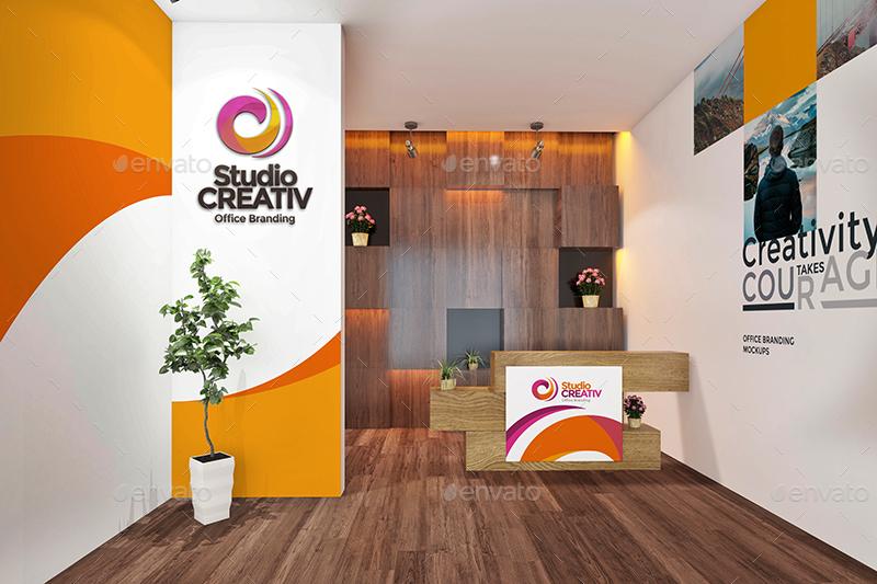 Studio Office Branding Mockups V2 By Wutip Graphicriver