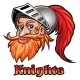 Knight In a Helmet Emblem - GraphicRiver Item for Sale