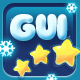 Christmas Snow Cartoon GUI - GraphicRiver Item for Sale
