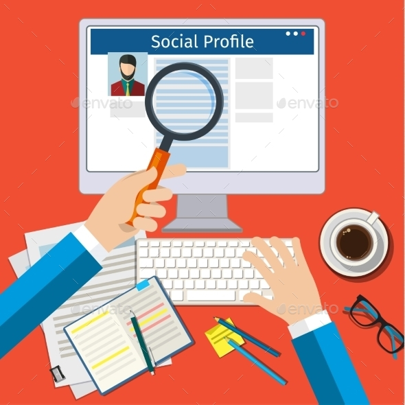Search Social Profile - Concepts Business