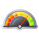 Performance Meter - 4 Stage Illustration - GraphicRiver Item for Sale