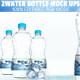 Water Bottle Mock-ups  - GraphicRiver Item for Sale