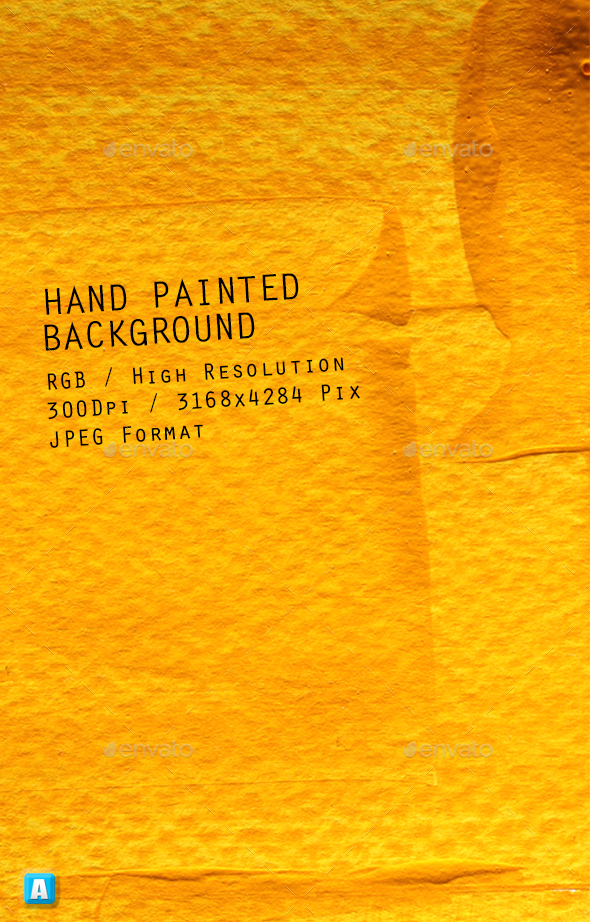 Hand Painted Background 0198 - Art Textures