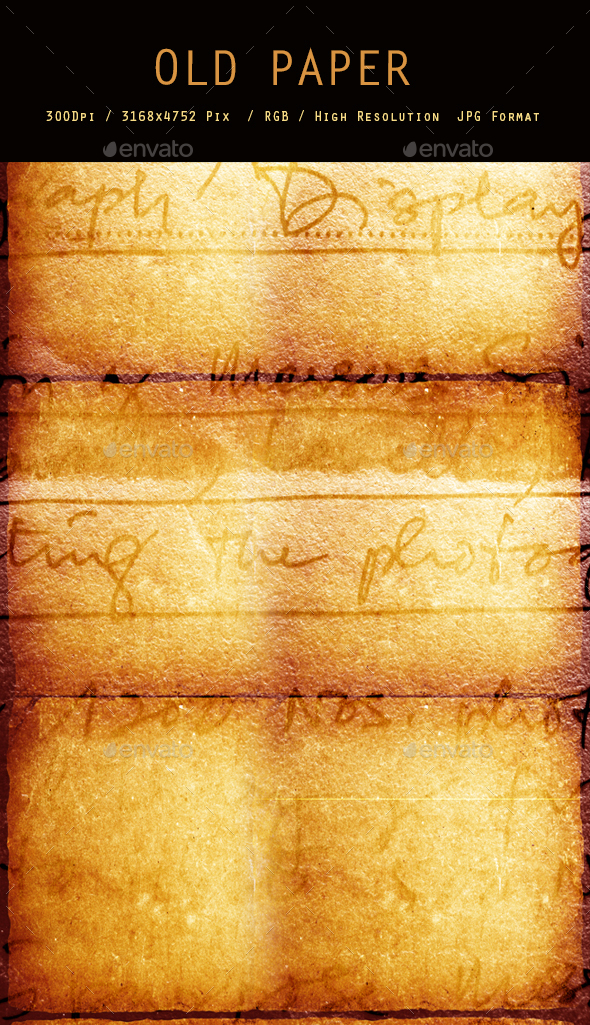 Old Paper 0200 - Paper Textures