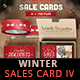Winter Sales Card IV - GraphicRiver Item for Sale