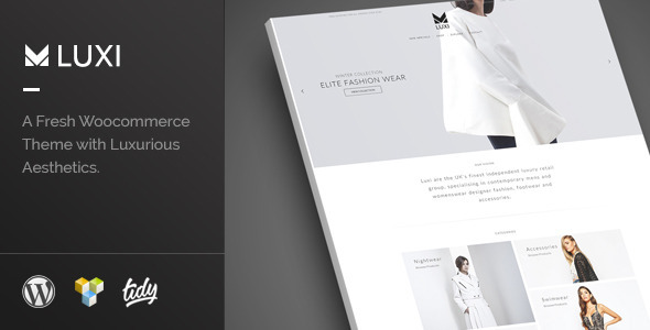 Luxi – Elegant WooCommerce Theme