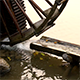 Water Mill - Water Hitting the Water Mill Weel 1 - VideoHive Item for Sale