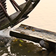Water Mill - Water Hitting the Water Mill Wheel 2 - VideoHive Item for Sale