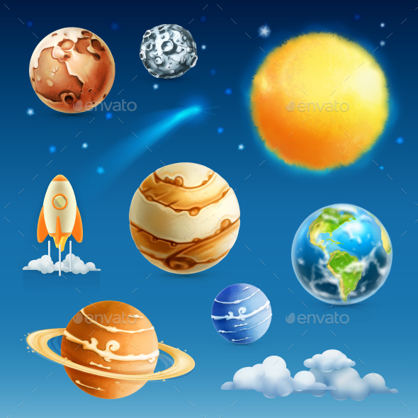Space and Planets - Landscapes Nature