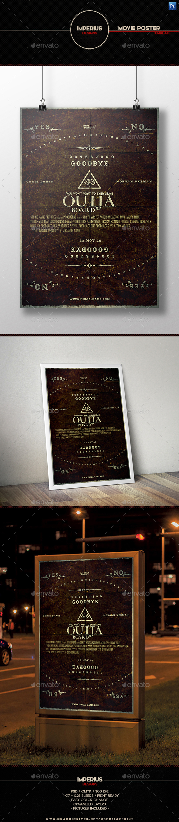 Ouija Board Movie Poster - Miscellaneous Events