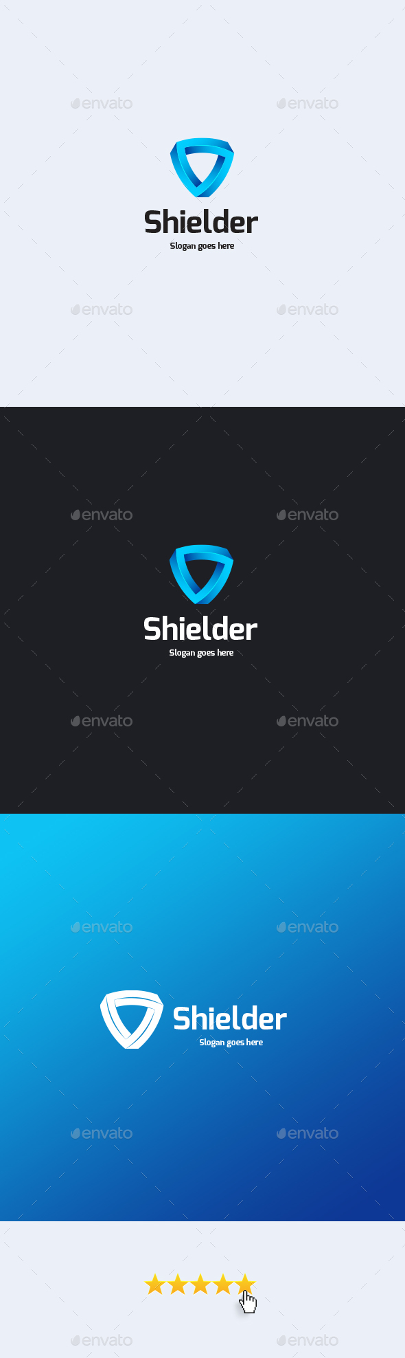 Shielder Logo Template - Objects Logo Templates
