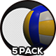 Volleyball Ball - 5 Pack - VideoHive Item for Sale