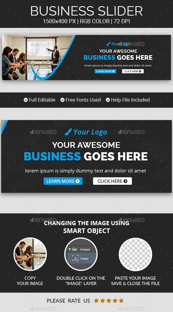 Business Sliders v19 - Sliders & Features Web Elements