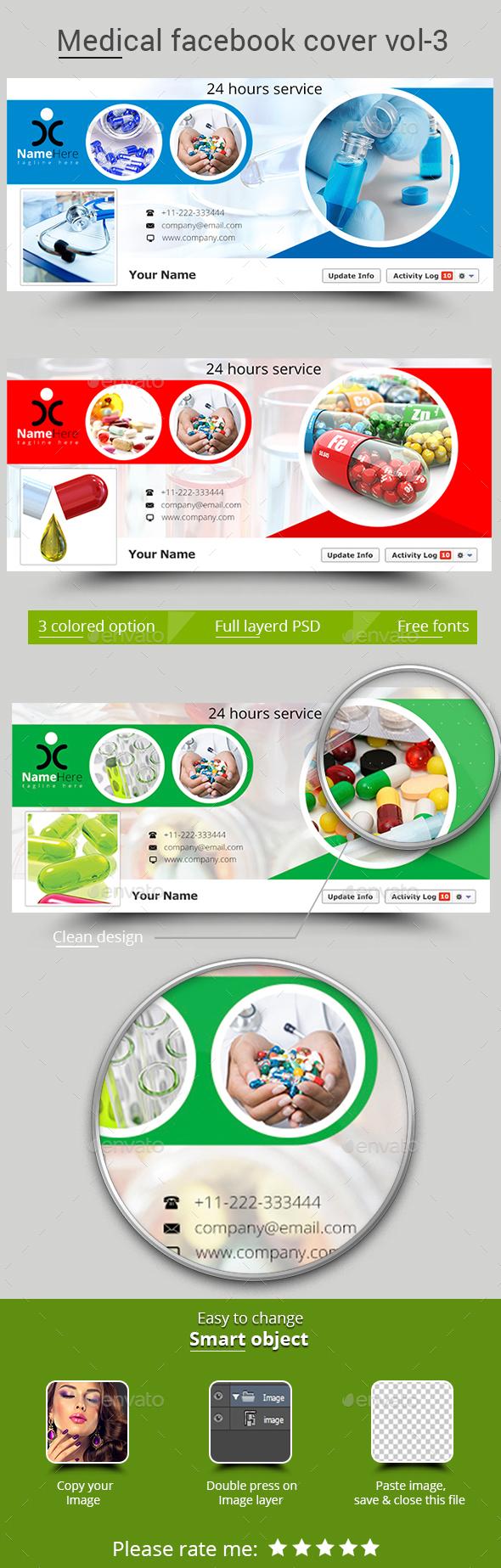 Medical Facebook Cover Vol- 3 - Facebook Timeline Covers Social Media