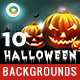 10 Halloween Backgrounds - GraphicRiver Item for Sale